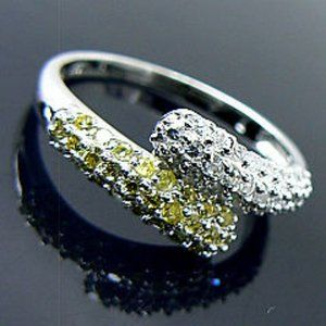 NEW Bypass Sterling Silver Ring